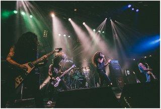 若手ヘヴィ・メタルの急先鋒 HELL FREEZES OVERが『METALLIZATION 1』に出演に出演