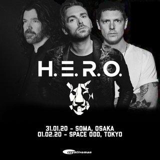 初来日から1年、H.E.R.O.の単独公演が決定