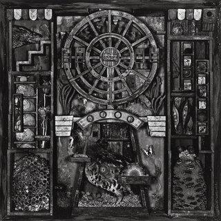 東京のドゥームロック・トリオKING GOBLINによる2ndは『ウルトラQ』をモチーフにしたスペースロックアルバム