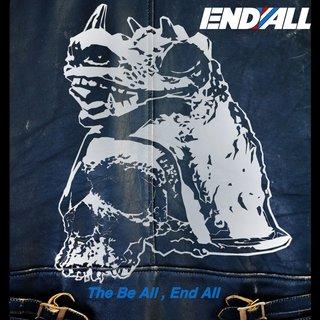 爆走トリオEND ALLのニュー・アルバム「The Be All, End All」2020年1月29日リリース