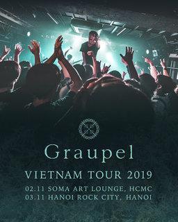 国産メタルコア期待の星 Graupel ベトナム・ツアー日記 Part.1