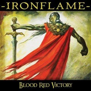 USトラディショナル正統派メタル IRONFLAMEが3rdアルバム「BLOOD RED VICTORY」を2月7日にリリース