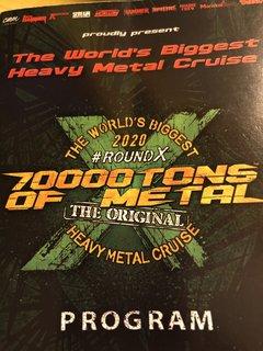 【速報リポート】世界最大のメタル・クルーズ『70000 TONS OF METAL 2020』初日