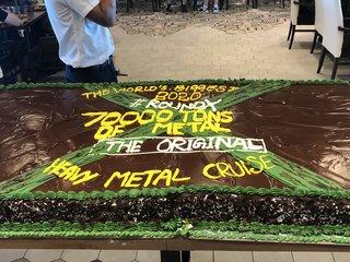 【フォトリポート】世界最大のメタル・クルーズ『70000 TONS OF METAL 2020』2日目