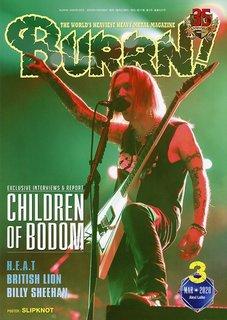事実上の解散ライブを行ったCHILDREN OF BODOMを大特集!『BURRN! 3月号』は2月5日発売!