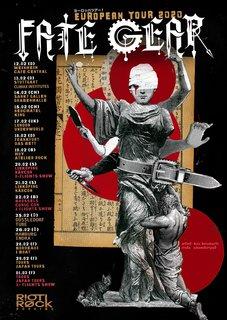 ガールズ・スチーム・メタル楽団FATE GEARが2月12日より2度目のヨーロッパ・ツアーを敢行!