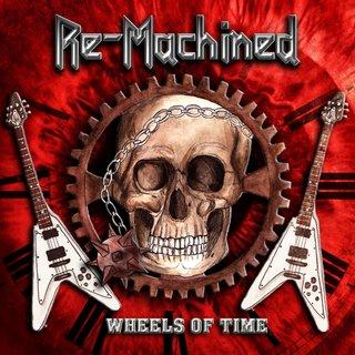 ドイツの正統派メタルRE-MACHINEDが1st「WHEEL OF TIME」を2月21日にリリース