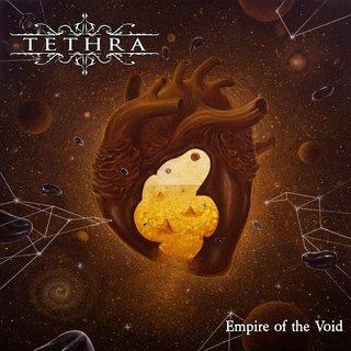 イタリアの5人組デス/ドゥーム・メタルTETHRAが3rd「EMPIRE OF THE VOID」を3月20日にリリース