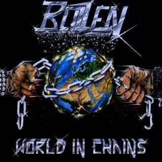 ドイツの4人組NWOTHMバンドBLIZZENが2nd「WORLD IN CHAINS」を4月24日にリリース