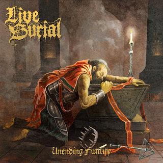 イギリスの5人組デス・メタル・バンドLIVE BURIALが2nd「UNENDING FUTILITY」を4月3日にリリース