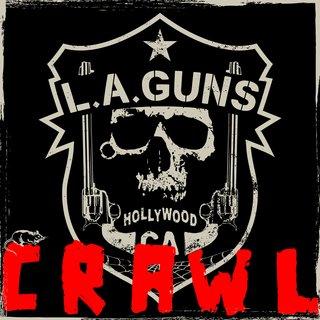 "L.A. GUNSがニュー・シングル""Crawl""をGolden Robot Recordsよりリリース"