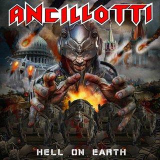 イタリアの正統派バンドANCILLOTTIが3rd「HELL ON EARTH」を5月29日にリリース ゲスト・ミュージシャンにシモーネ・ムラローニ(DGM)他参加