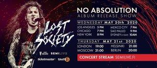 Lost Societyがアルバムリリースライブを日本時間5月21日AM9時、22日AM3時にストリーム!