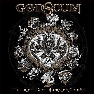 元LEMUR VOICE、元HOLY MOSESのメンバーを擁するGODSCUMがデビュー作「THE ZODIAC HORRORSCOPE」をリリース