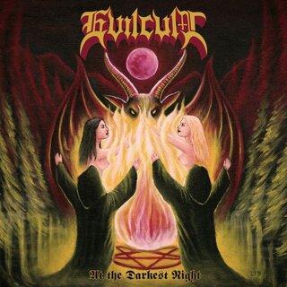 ブラジルのイーヴィルな2ピース・スラッシュ・メタルEVILCULTがデビュー作「AT THE DARKEST NIGHT」をリリース