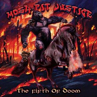 ブルガリア出身のトリオ編成スラッシャーMOSH-PIT JUSTICEが5th「THE FIFTH OF DOOM」を8月15日にリリース