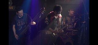 福島のブラックメタルDeathrollがバンド編成での無観客ライブ映像を公開