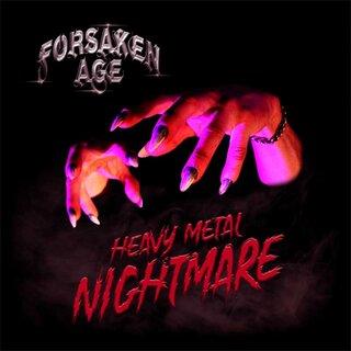 """ティム""""リッパー""""オーウェンズがゲスト参加!ニュージーランドのヘヴィ・メタル FORSAKEN AGEが2nd「HEAVY METAL NIGHTMARE」を11月6日にリリース。"""