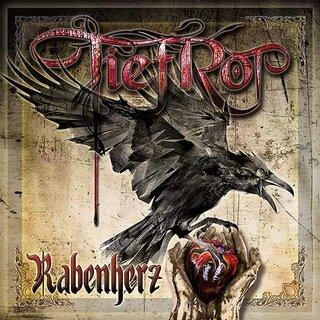 インダストリアル/ゴシック・デュオから、ツイン・ギターの5人組バンドに 再編されたドイツのたTIEFROTが3rd「RABENHERZ」をリリース