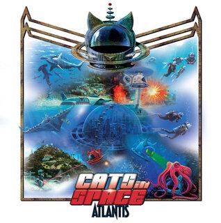 UKのポンプ/メロディック・ロックCATS IN SPACEが、注目のニュー・シンガーを迎え4th「ATLANTIS」をリリース!