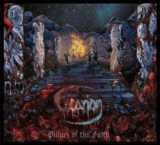 オーストラリアのメロディック・デス・メタルESCARIONがデビュー作「PILLARS OF THE FAITH」を1月29日にリリース