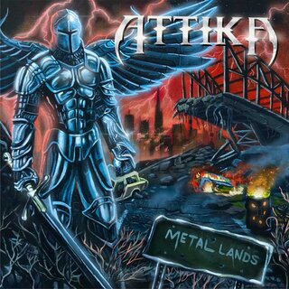 USパワー・メタルの古豪ATTIKAが前作から30年振りとなる3rd「METAL LANDS」を2月26日にリリース