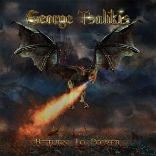 USメロディック・パワー・メタル・バンドZANDELLEのシンガー、ジョージ・ツァリキスが約5年ぶりとなる2nd「RETURN TO POWER」を3月26日にリリース