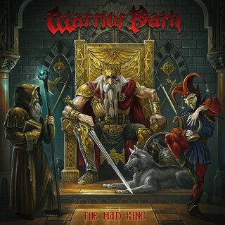 元FIREWINDのボブ・カティオニスを擁するギリシャのパワー・メタルWARRIOR PATHがダニエル・ハイマン(元LOST HORIZON)を迎え2nd「THE MAD KING」をリリース