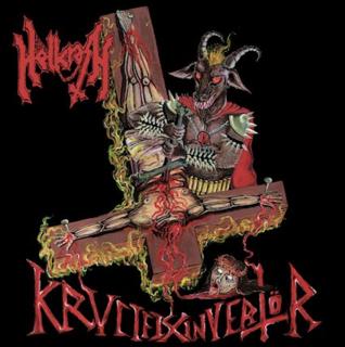 初期VENOM、SLAYER直系 イタリアンのオールドスクール・スラッシュ・メタルHELLCRASHが「KRVCIFIX INVERTÖR」の日本盤をCARNAL BEASTより4月21日にリリース