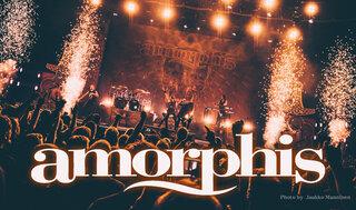AMORPHISが2枚組ライヴ・アルバムを5月21日に世界同時リリース!