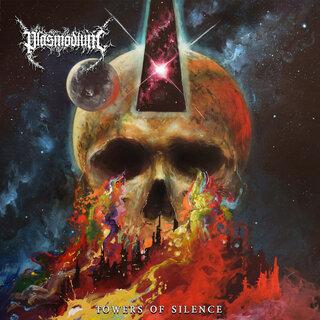 """DESTROYER 666等に参加の マット""""スキッツ""""サンダースが在籍のオーストラリアのデス/ブラック・メタルPLASMODIUMが2nd「TOWERS OF SILENCE」を4月30日にリリース"""
