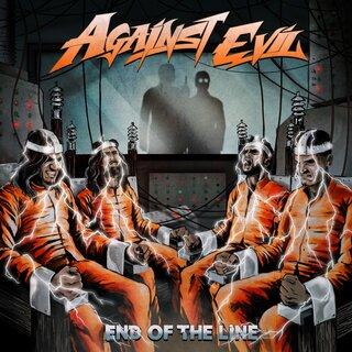 インドの質実剛健なトゥルー・メタルを体現する4人組バンドAGAINST EVILがゲストにビリー・シーンを迎え2nd「END OF THE LINE」を5月14日にリリース