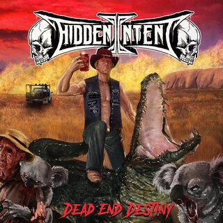 TRUE THRASH FEST2019に来日のオーストラリア出身トリオ編成スラッシュ・メタルHIDDEN INTENTが約3年ぶりとなる3rd「DEAD END DISTINY」をリリース