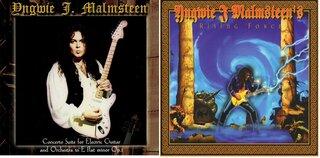 ファンのリクエストによりイングヴェイ・マルムスティーンの2作品が高音質CDで再発の可能性!