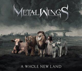 ブルガリア出身、ヴィオラと鍵盤楽器も操る 女性シンガー率いる5人組シンフォニック/ゴシック・メタル・バンド METALWINGSが2nd「A WHOLE NEW LAND」を6月11日にリリース