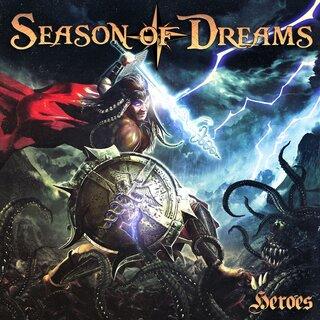 フランス産メロディック・メタルA TASTE OF FREEDOMに在籍するマルチ・プレイヤーのプロジェクトSEASON OF DREAMSがの2nd「HEROES」を6月18日にリリース