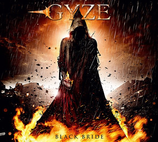 GYZE 2nd Album「BLACK BRIDE」