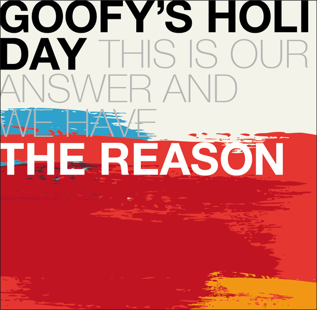 GOOFY'S HOLIDAY / REASON