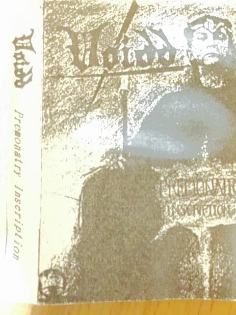 Voidd / Premonatry Inscription