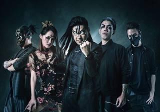 台湾のメタルバンドCHTHONIC 2019来日公演
