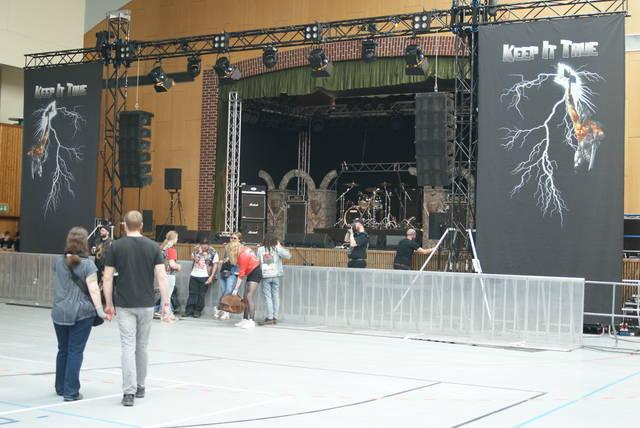 ステージの様子