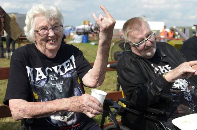 Two Elderly Metalheads Esca...