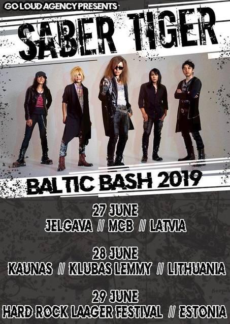 BALTIC BASH 2019 ポスター