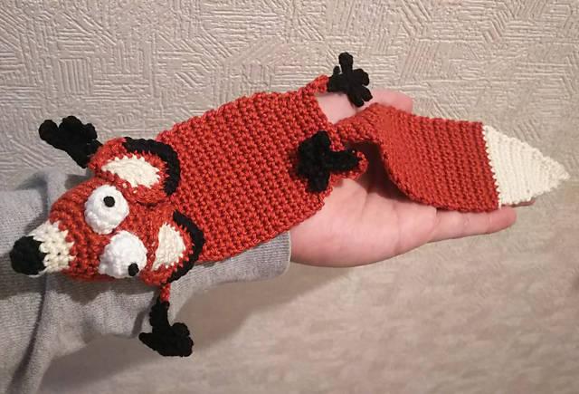 ケビンのお母さんお手製の「キツネのしおり」