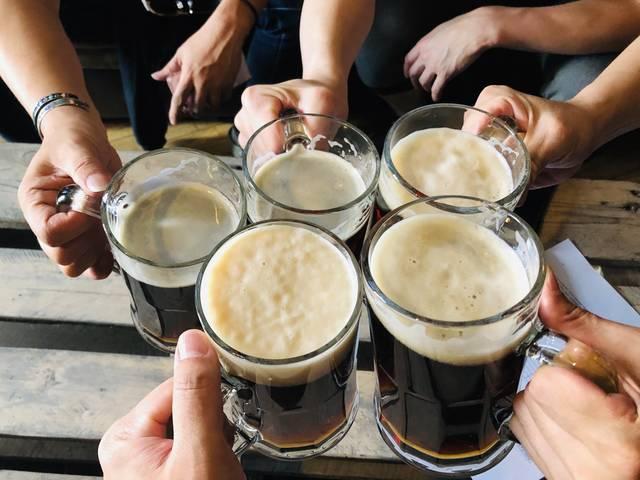 ジャック・コークまいう~。他の皆はダークビール