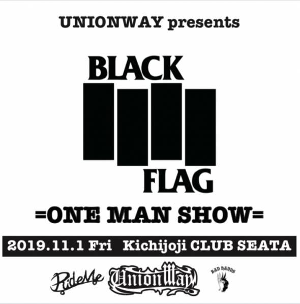 【UNIONWAY presents BLACK FL...