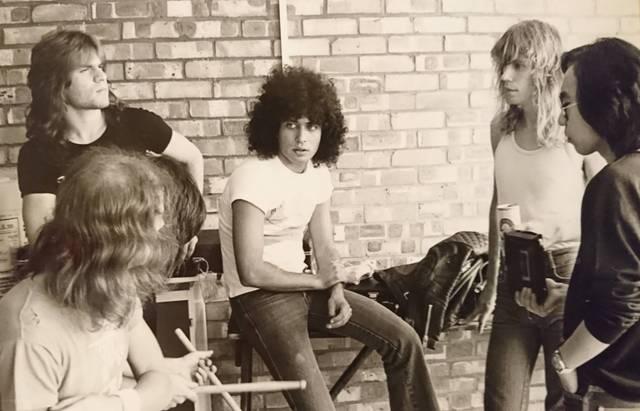 1980年、モンスターズ・オブ・ロック出演したRIOT...