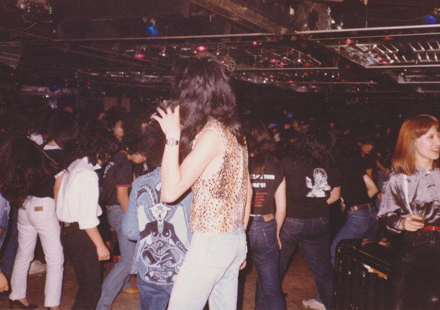 1982年頃のフロア。