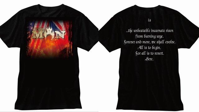 THE MANのTシャツデザインはこちらになります。