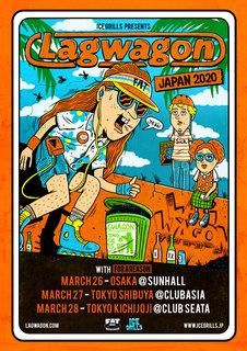 カリフォルニア出身パンク・バンドLAGWAGONの5年ぶりジャパン・ツアー!